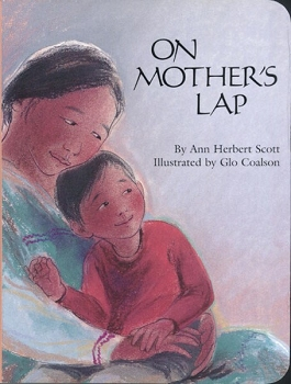 On Mother's Lap Board Book